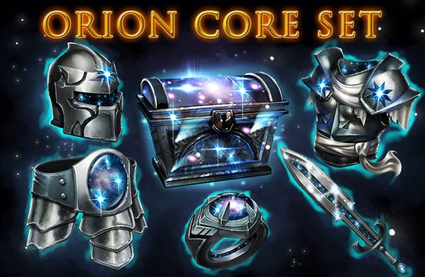 Orion core set now live inside game of war