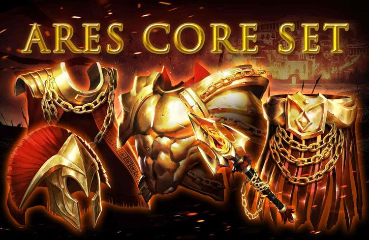 Ares core set now live inside game of war