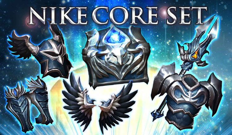 Nike core set now live inside game of war